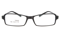 GLAM N803 TR93 Female Full Rim Square Optical Glasses