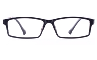 Poesia 7003 SMOOTH ULTEM Mens&Womens Rectangle Full Rim Optical Glasses